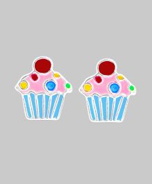 Pinky Cupcake Earrings