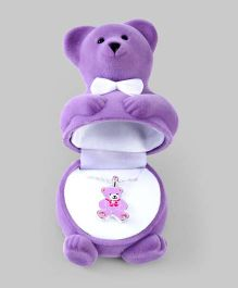 Purple Teddy Pendant in Teddy Box