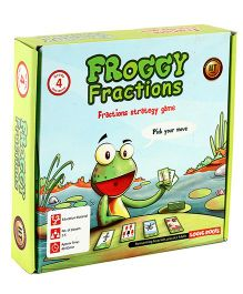Logic Roots Fractions Strategy Game - Froggy Fractions