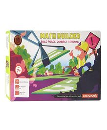Logic Roots Math Strategy Board Game - Math Builder