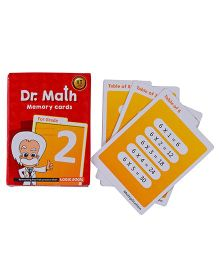 Logic Roots Dr Math Flash Cards For Class 2 - Grade 2
