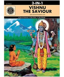 Amar Chitra Katha Vishnu the Saviour