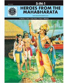 Amar Chitra Katha Heroes From The Mahabharata