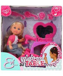 Simba Evi Love Makeup Table - Height 10 cm