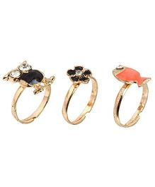 Addon Finger Rings - Set Of 3