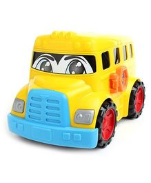 Dickie Happy City Toy Vehicle - Yellow