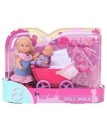 Evi Love Doll Walk - Height 11 cm