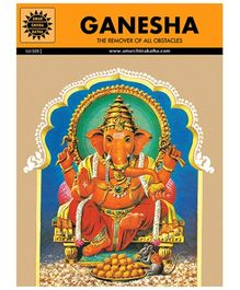 Amar Chitra Katha Ganesha And The Moon