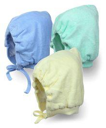 Tinycare Bonnet Style Cap Extra Large - Set Of 3