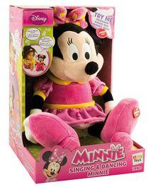 IMC Toys Singing Minnie Soft Toy - Height 36 cm