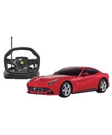 Rastar Remote Controlled Ferrari F12 With Steering Wheel Controller