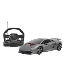 Rastar Remote Controlled Lamborghini Sesto Elemento With Steering Wheel Controller