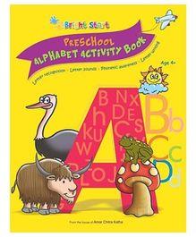 Brightstart Preschool Alphabet Activity Book - English