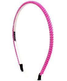 Stol'n Hair Band Pink - Stone Beads