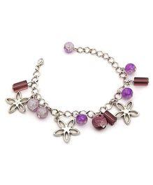 Stol'n Bracelet Purple - Beaded Charms