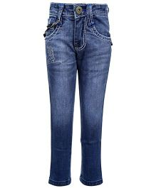 Hollywood Full Length Jeans - Light Blue