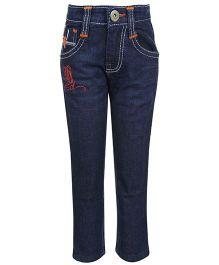 Hollywood Full Length Jeans - Dark Blue