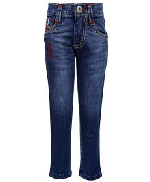 Hollywood Full Length Jeans - Skull Design