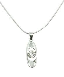 Diovanni Crystal Necklace - Passion to Achieve Drive to Succeed