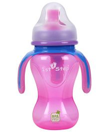 1st Step Soft Spout Cup With Handle Pink - 270 ml