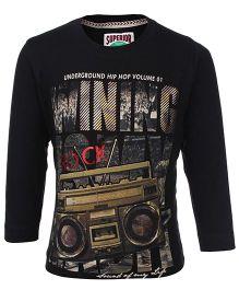 Ruff T-Shirt Full Sleeves - Rock Print