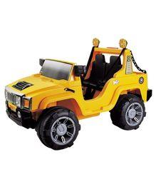 Marktech - Humvee Double Seater Jeep Stylish Yellow