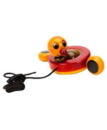 Dovetail Peddling Duck Wooden Toy