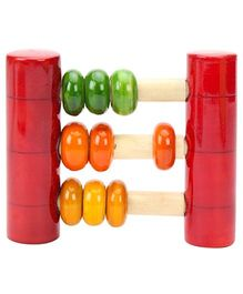 Dovetail Abacus Wooden Toy - Multicolour