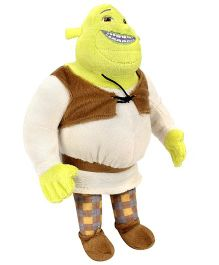 Shrek Soft Toy - Yellow And Brown