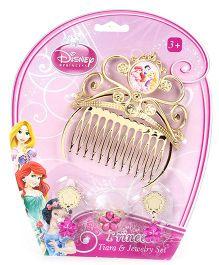 Disney Princess Tiara And Jewellery Set