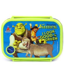 Shrek Lunch Box - Green And Blue