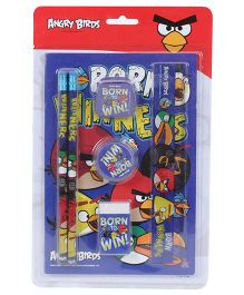 Angry Birds Stationery Set - 7 Pieces
