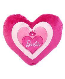 Barbie Heart Shaped Cushion - Pink