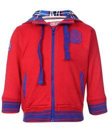 Gini & Jony Hooded Sweatshirt Full Sleeves