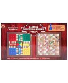 Toysbox Ludo And Snakes And Ladders Premium - Medium