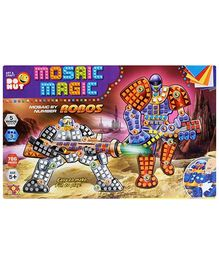 Toysbox Mosaic Magic Robos - Multi Color
