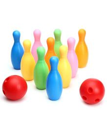 Toysbox Carry On Bowling Set Multicolor - 10 Pins