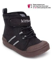 Kittens Casual Lace Up Shoes - Black