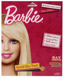Barbie Special Glow Pack - 4 Sheets
