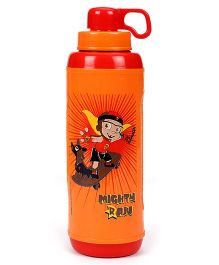 Mighty Raju Capsule Water Bottle - Orange
