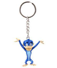 Chhota Bheem Key Chain Blue - Jaggu