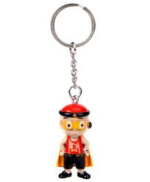 Mighty Raju  Key Chain - Multi Color