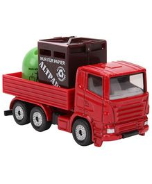 Siku Funskool Recycling Transporter - Red