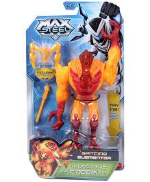 Max Steel Spitfire Elementor Figure - Yellow And Red