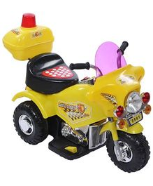 Battery Operated Bike - Yellow