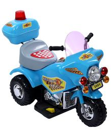 Battery Operated Bike - Blue And Grey