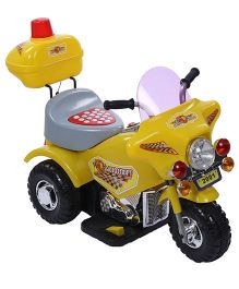 Battery Operated Bike - Yellow And Grey