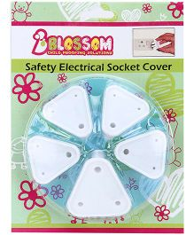 Blossom Child Proofing Electrical Socket Cover - Pack of 5