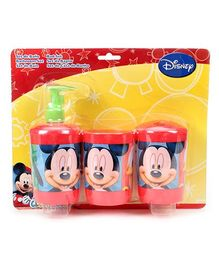 Mickey Mouse And Friends Bathroom Set - 3 Piece