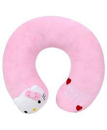 Hello Kitty Neck Pillow Pink - Length 32 cm